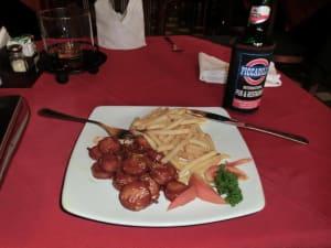 Currywurst in Kuta