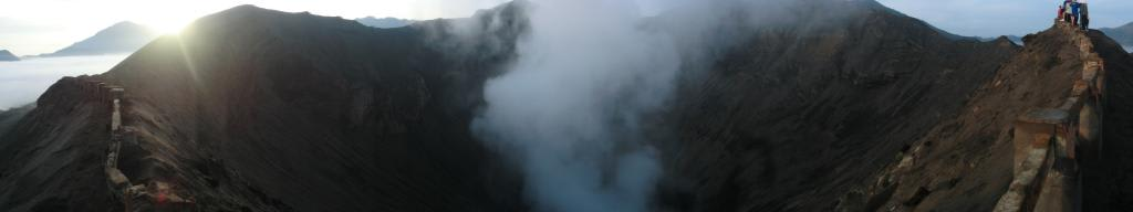 Krater des Bromo