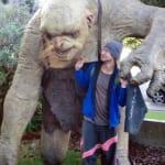 Trolle vor der Weta Cave