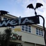 Weta Cave Eingang