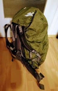 Mein Rucksack fertig gepackt für Sumatra