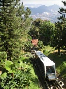 Kabelbahn auf den Penang Hill
