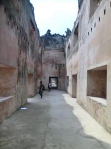 Ruinen in Yogya