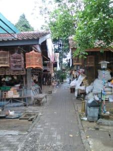 Vogelmarkt in Yogya