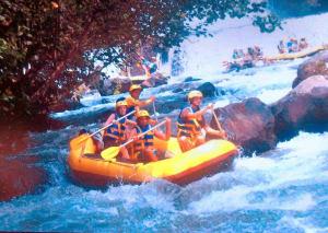 Rafting auf dem Telega Waja