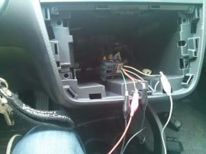 Erste Versuche mit der Elektronik