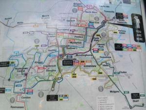 Karte von Townsville