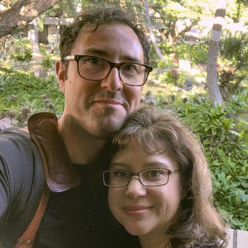 The wife and I in Honolulu