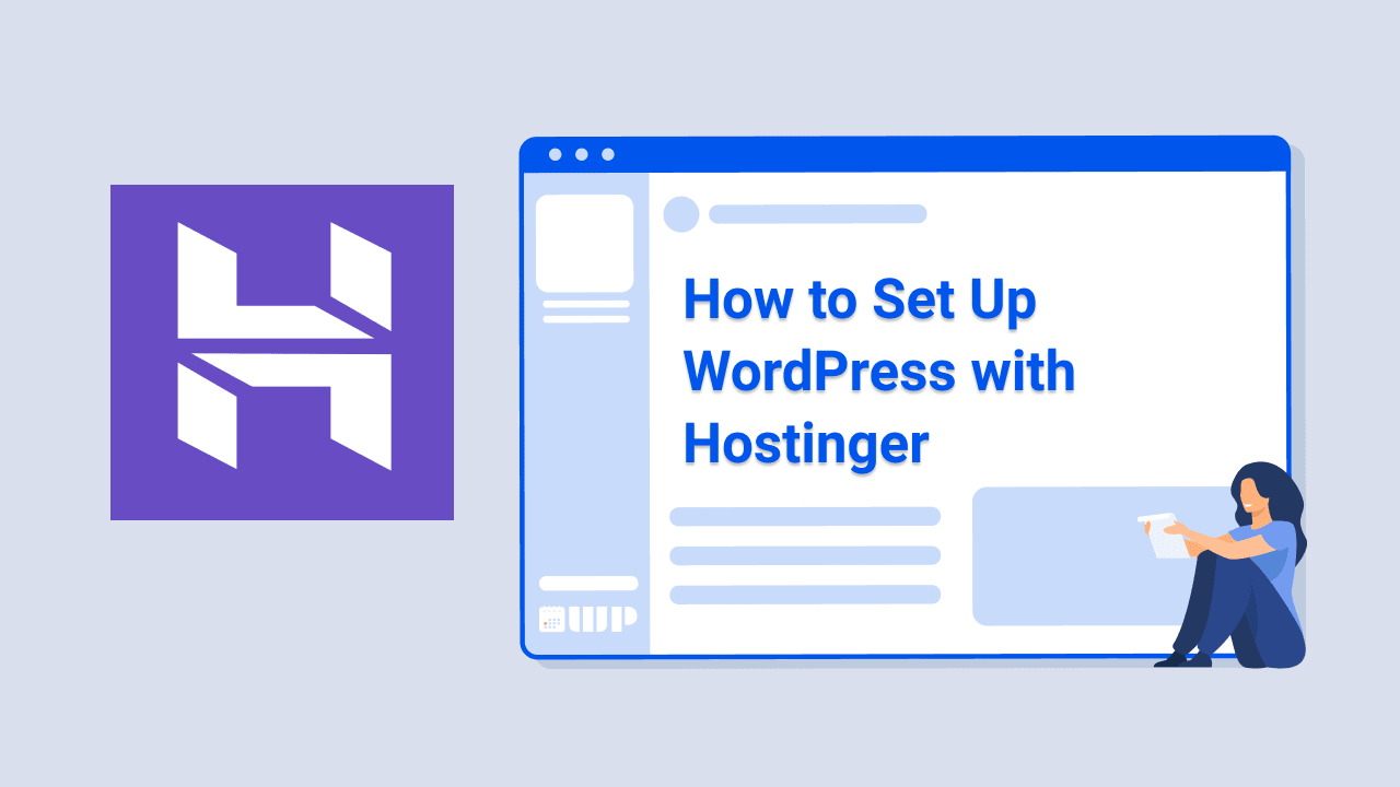 How to Set Up WordPress with Hostinger