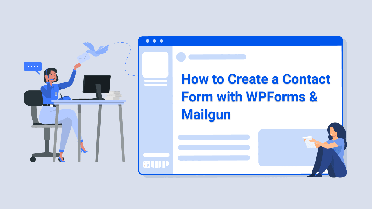 How to Create a Contact Form with WPForms & Mailgun