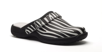Zebra Pattern (with heel strap)