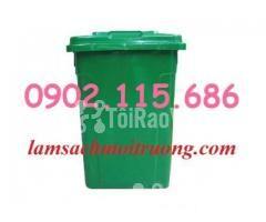 Bán thùng rác nhựa 90L,thùng rác công cộng,thùng rác nhựa composite, - Hình ảnh 1/3