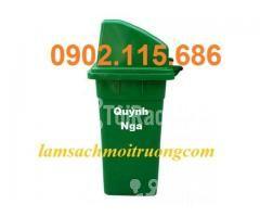 Bán thùng rác nhựa 90L,thùng rác công cộng,thùng rác nhựa composite, - Hình ảnh 3/3