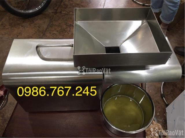 Máy ép dầu lạc gia đình , máy ép dầu công suất từ 3-6kg/h giá rẻ  - 2/4