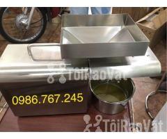Máy ép dầu lạc gia đình , máy ép dầu công suất từ 3-6kg/h giá rẻ  - Hình ảnh 3/4