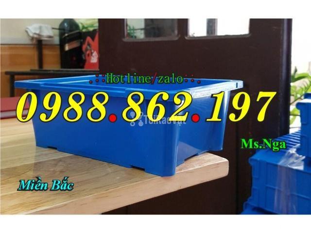 Thùng nhựa đặc A4, sóng nhựa bít A4, thùng chứa A4, khay nhựa A4 thùng - 1/6