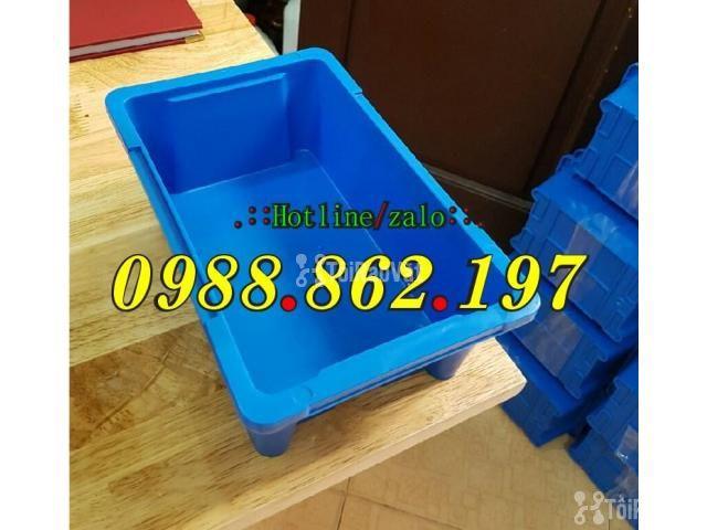 Thùng nhựa đặc A4, sóng nhựa bít A4, thùng chứa A4, khay nhựa A4 thùng - 3/6