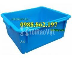 Thùng nhựa đặc A4, sóng nhựa bít A4, thùng chứa A4, khay nhựa A4 thùng - Hình ảnh 4/6