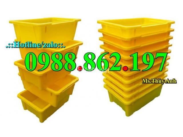 Thùng nhựa đặc A4, sóng nhựa bít A4, thùng chứa A4, khay nhựa A4 thùng - 5/6