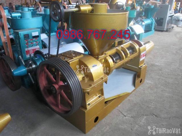 địa chỉ cung cấp máy ép dầu lạc công nghiệp guangxin yzyx140 - 1/6
