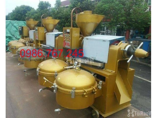 địa chỉ cung cấp máy ép dầu lạc công nghiệp guangxin yzyx140 - 2/6