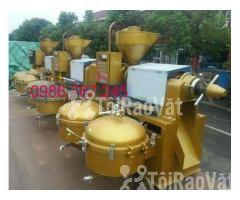 địa chỉ cung cấp máy ép dầu lạc công nghiệp guangxin yzyx140 - Hình ảnh 2/6