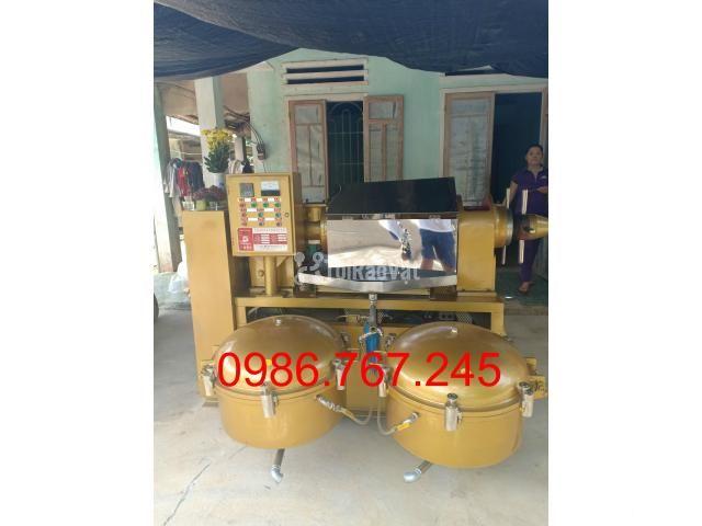 địa chỉ cung cấp máy ép dầu lạc công nghiệp guangxin yzyx140 - 4/6