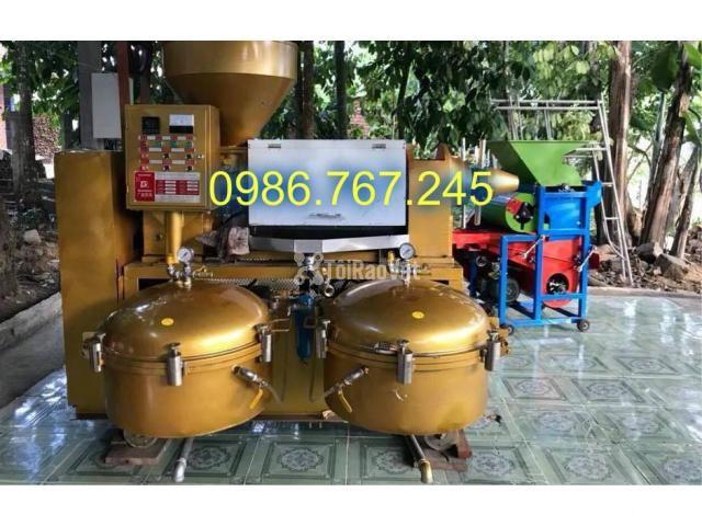 địa chỉ cung cấp máy ép dầu lạc công nghiệp guangxin yzyx140 - 6/6