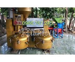 địa chỉ cung cấp máy ép dầu lạc công nghiệp guangxin yzyx140 - Hình ảnh 6/6