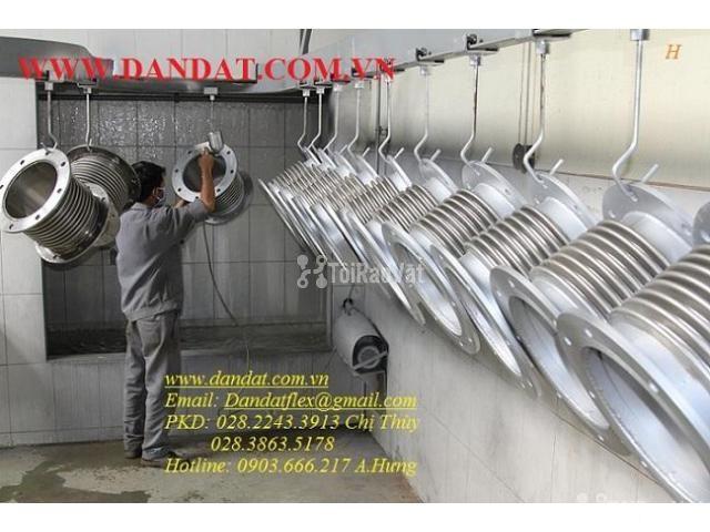 Dây cấp nước inox, khớp nối mềm inox, khớp co giãn, ống mềm PCCC - 5/6