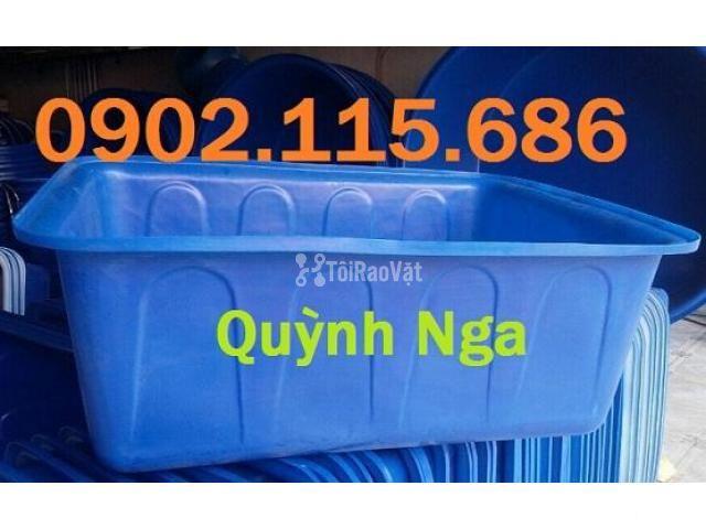 Thùng nhựa dung tích lớn, thùng nhựa nuôi cá, thùng nhựa nuôi thủy sản - 1/2