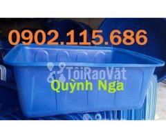 Thùng nhựa dung tích lớn, thùng nhựa nuôi cá, thùng nhựa nuôi thủy sản - Hình ảnh 1/2