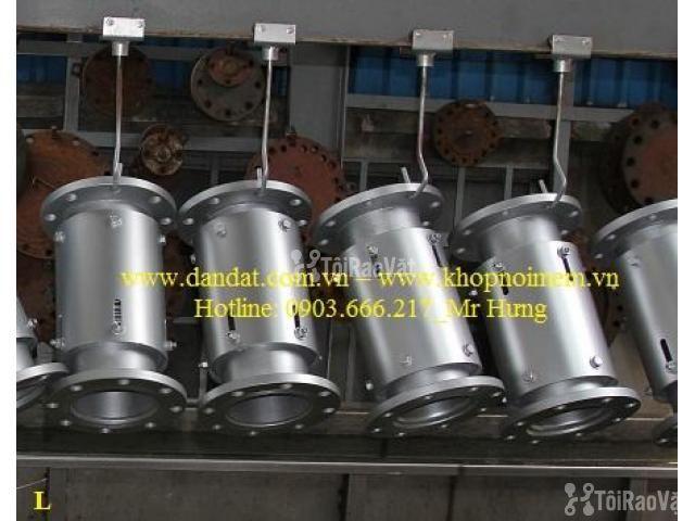 Khớp nối DN150, Ống mềm inox nối bích, khớp chống rung inox - 2/6