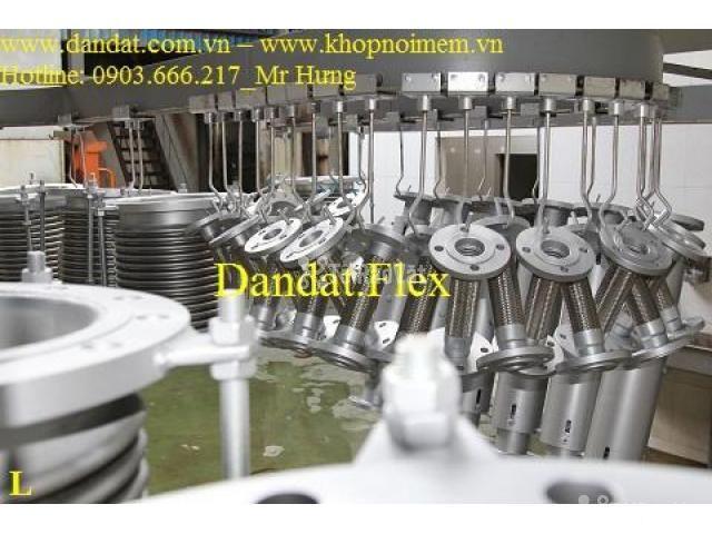 Khớp nối DN150, Ống mềm inox nối bích, khớp chống rung inox - 3/6