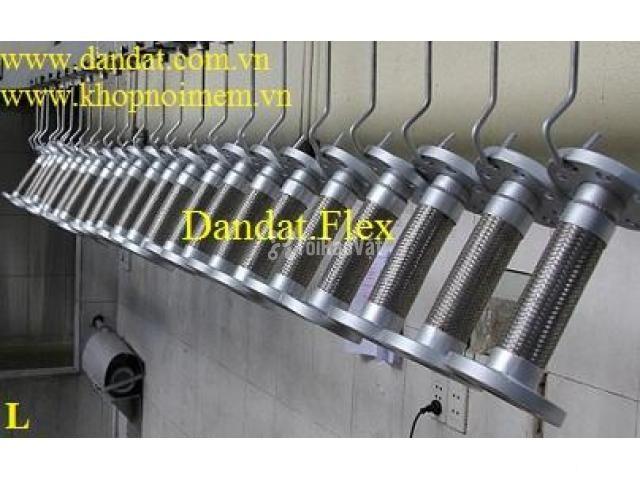 Khớp nối DN150, Ống mềm inox nối bích, khớp chống rung inox - 5/6