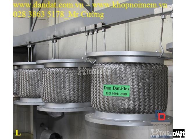 Ống mềm inox sus304 dẫn hóa chất, khớp chống rung inox nối bích - 2/6
