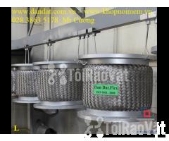 Ống mềm inox sus304 dẫn hóa chất, khớp chống rung inox nối bích - Hình ảnh 2/6