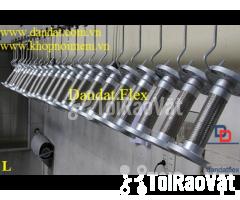 Ống mềm inox sus304 dẫn hóa chất, khớp chống rung inox nối bích - Hình ảnh 3/6