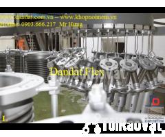 Ống mềm inox sus304 dẫn hóa chất, khớp chống rung inox nối bích - Hình ảnh 5/6
