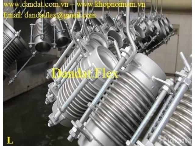 Khớp giãn nở nhiệt inox, ống co giãn, khớp nối ống mềm chịu nhiệt cao - 2/6
