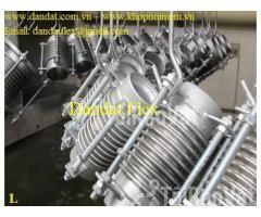 Khớp giãn nở nhiệt inox, ống co giãn, khớp nối ống mềm chịu nhiệt cao - Hình ảnh 2/6