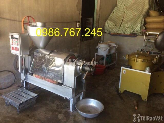 Máy ép dầu công nghiệp chính hãng guangxin yzyx10j-2wk giá rẻ  - 2/6