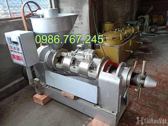 Máy ép dầu công nghiệp chính hãng guangxin yzyx10j-2wk giá rẻ  - 4/6