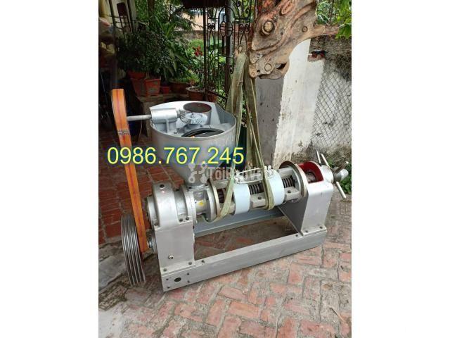 Máy ép dầu công nghiệp chính hãng guangxin yzyx10j-2wk giá rẻ  - 5/6