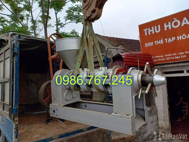 Máy ép dầu công nghiệp chính hãng guangxin yzyx10j-2wk giá rẻ  - 6/6