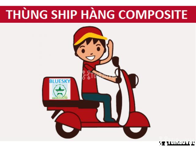 Chuyên cung cấp Thùng ship hàng Composite cao cấp - 1/5