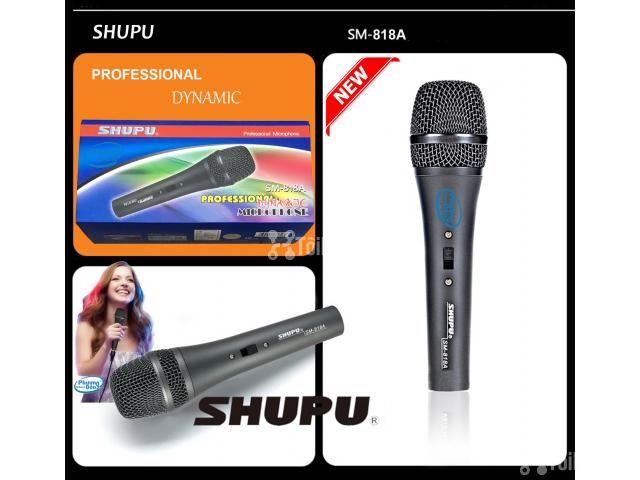 Micro karaoke Shupu SM-818A có dây cao cấp - 1/4