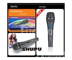Micro karaoke Shupu SM-818A có dây cao cấp - Hình ảnh 1/4