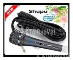 Micro karaoke Shupu SM-818A có dây cao cấp - Hình ảnh 2/4