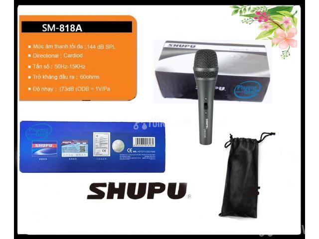 Micro karaoke Shupu SM-818A có dây cao cấp - 4/4